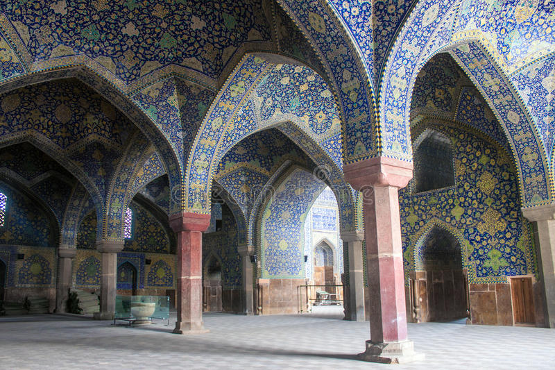 Imam Mosque in Isfahan royalty free stock image