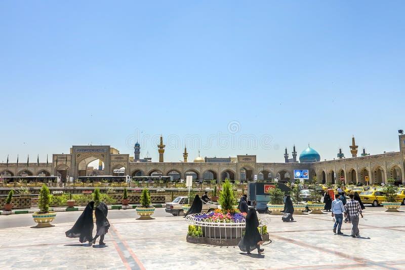 Imam Reza Shrine di Mashhad fotografia stock