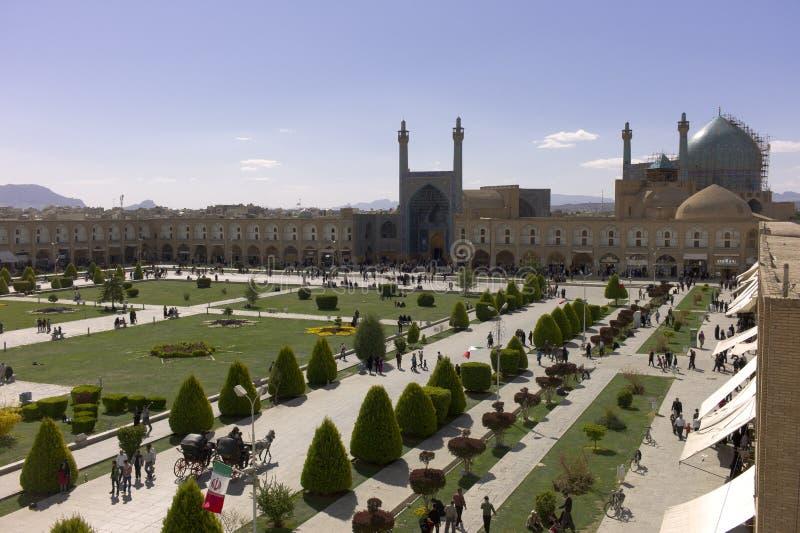 Imam Square, Isfahan, Iran stock image