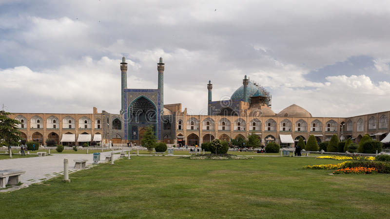 Imam Square in Isfahan stock photo