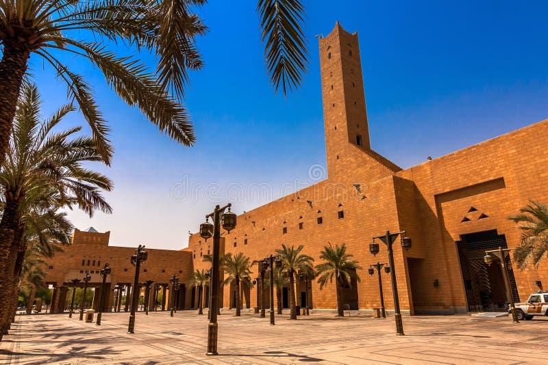 Imama Turki kosza Abdullah Uroczysty meczet, Riyadh obrazy stock