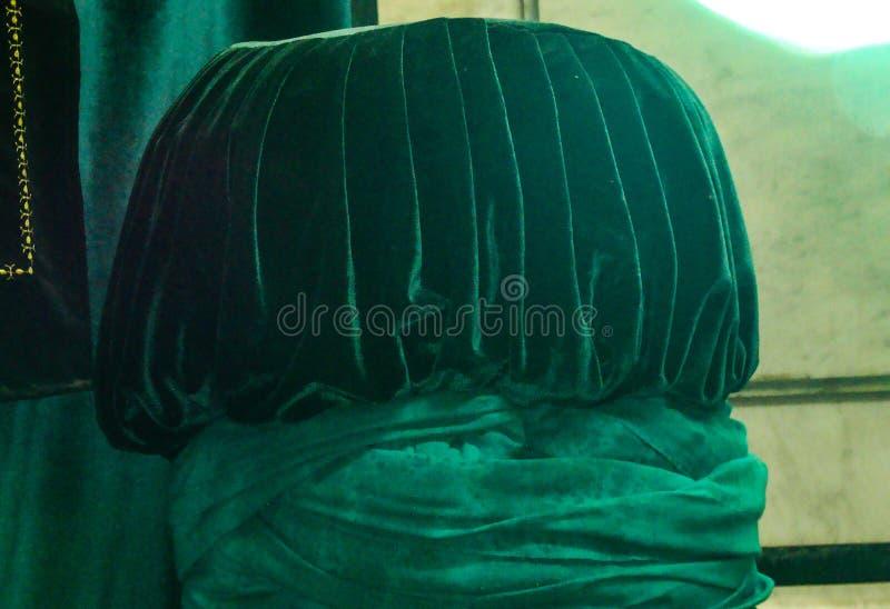 ImamHussain turban royaltyfria bilder