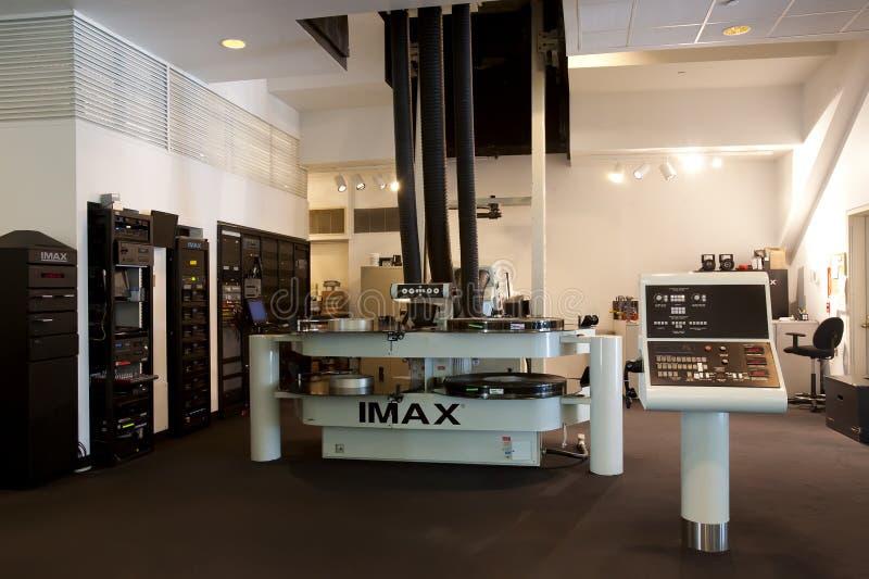 IMAX-filmprojektor royaltyfri fotografi