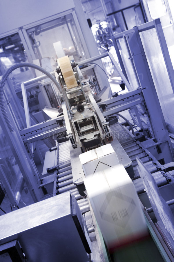 Imballaggio industriale immagine stock libera da diritti