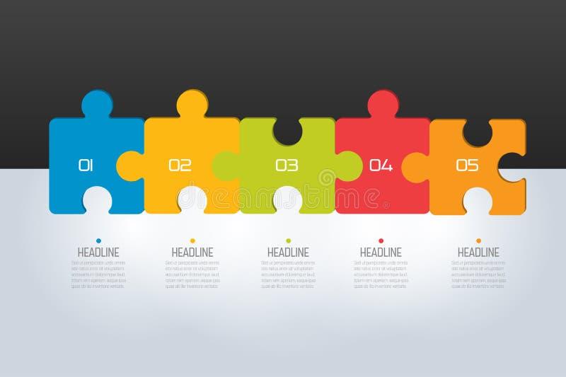 Imbarazzi infographic, i punti il grafico, il modello, lo schema, linguetta royalty illustrazione gratis