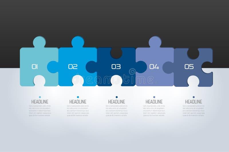 Imbarazzi infographic, i punti il grafico, il modello, lo schema, linguetta illustrazione di stock