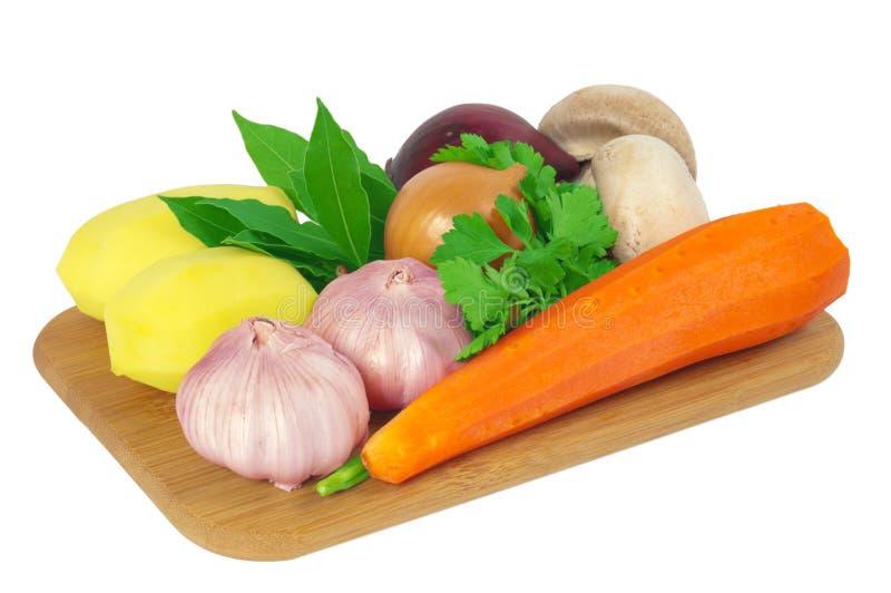Imbarchi con le verdure fotografia stock libera da diritti