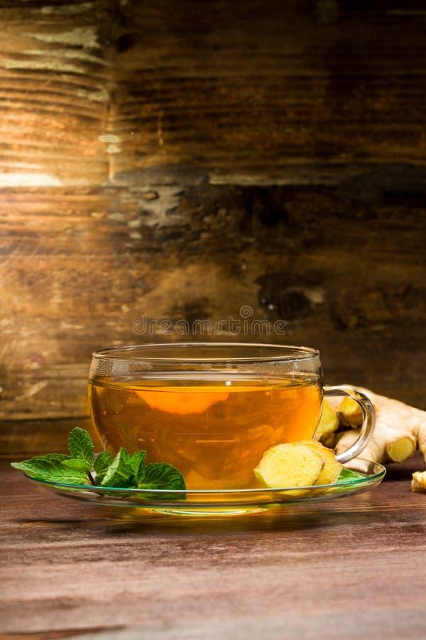 Imbirowa herbata zdjęcia royalty free
