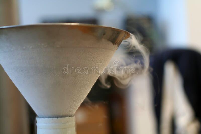 Imbuto dell'azoto liquido fotografia stock