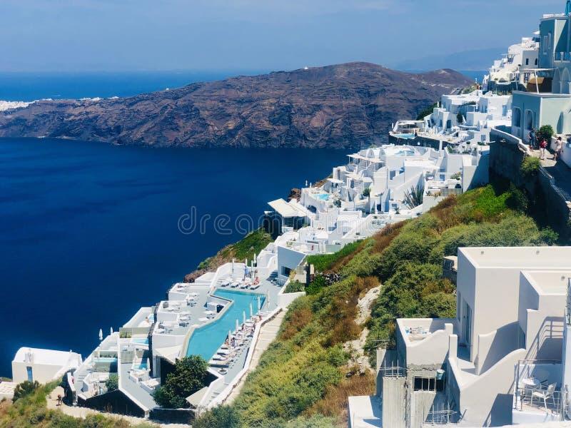 Imerovigli, Santorini fotografie stock libere da diritti