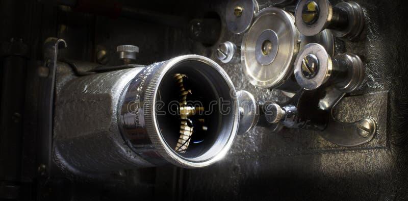 Img 6051放映机透镜 库存照片