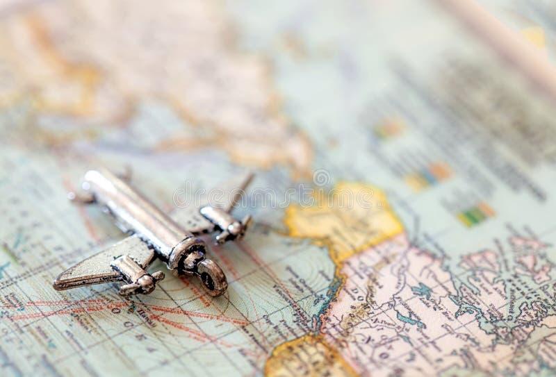 Worldwide Traveler Charm royalty free stock image