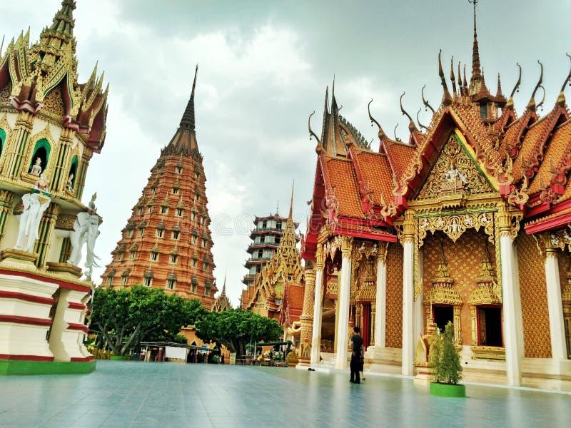 Imię świątynia jest & x22; Tygrysia jama Temple& x22; fotografia royalty free