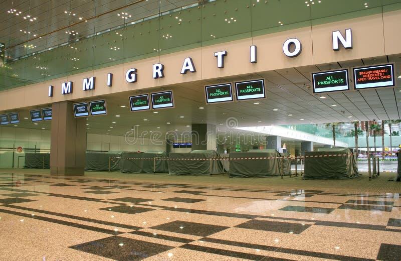 Imigração fotografia de stock royalty free