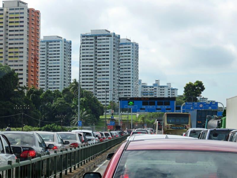 Imigrações e costumes de Malásia fotos de stock