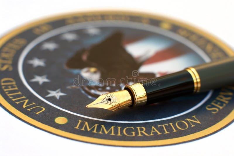 imigracja obraz royalty free