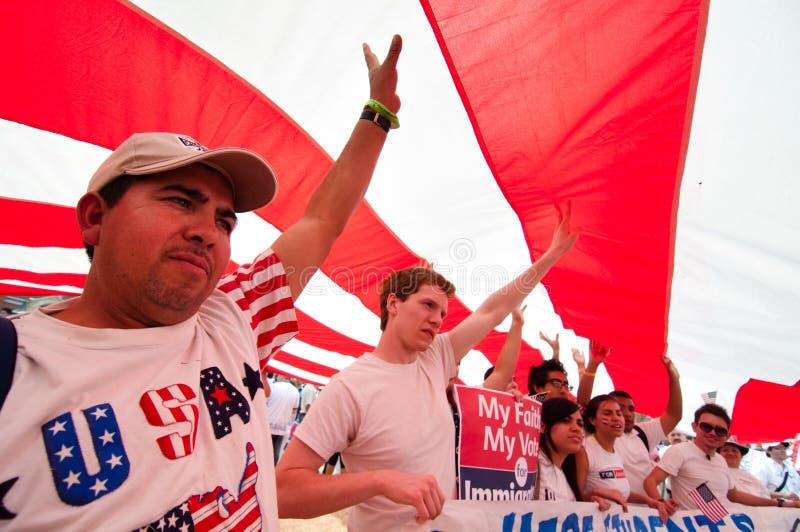 imigracja zlotny Washington zdjęcie stock