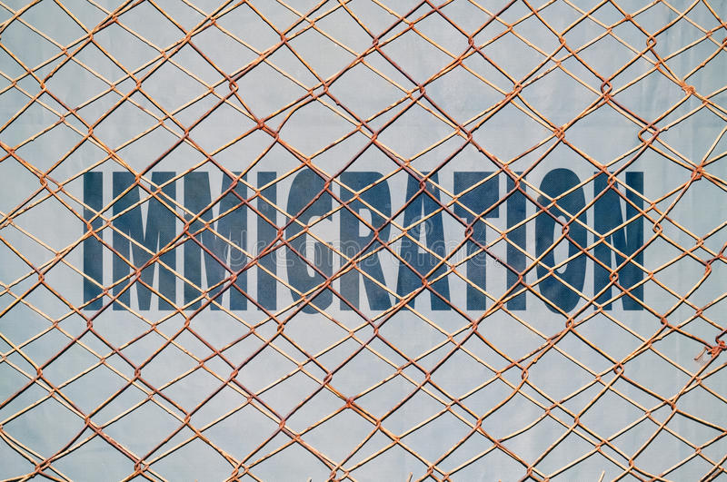 imigracje ilustracji