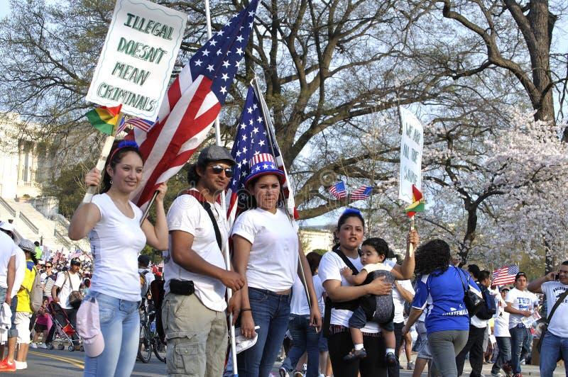 Imigracyjna reforma fotografia royalty free