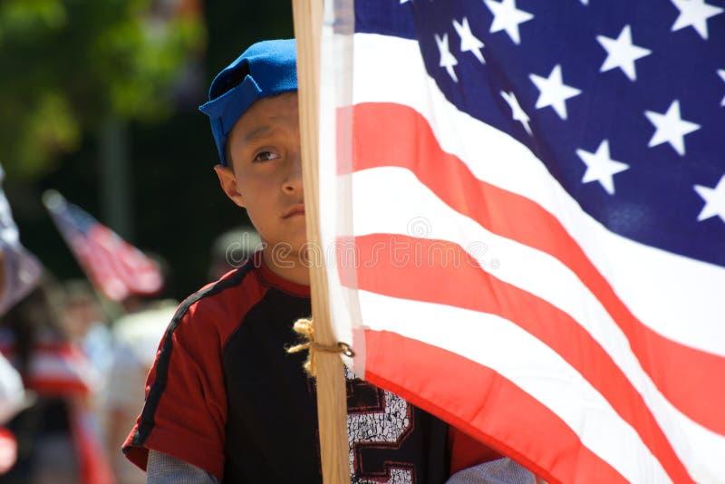 imigracyjny marsz zdjęcia royalty free