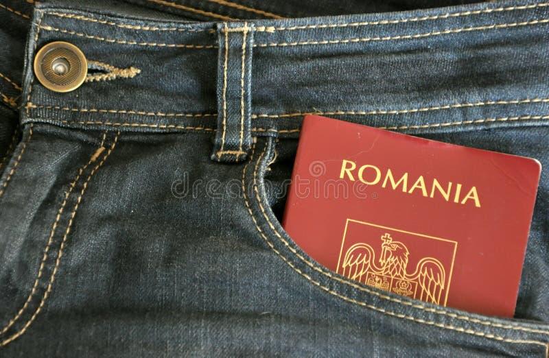 imigracyjny pojęcia romanian obrazy stock