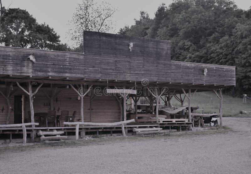 Imitação da casa do vaqueiro fotos de stock