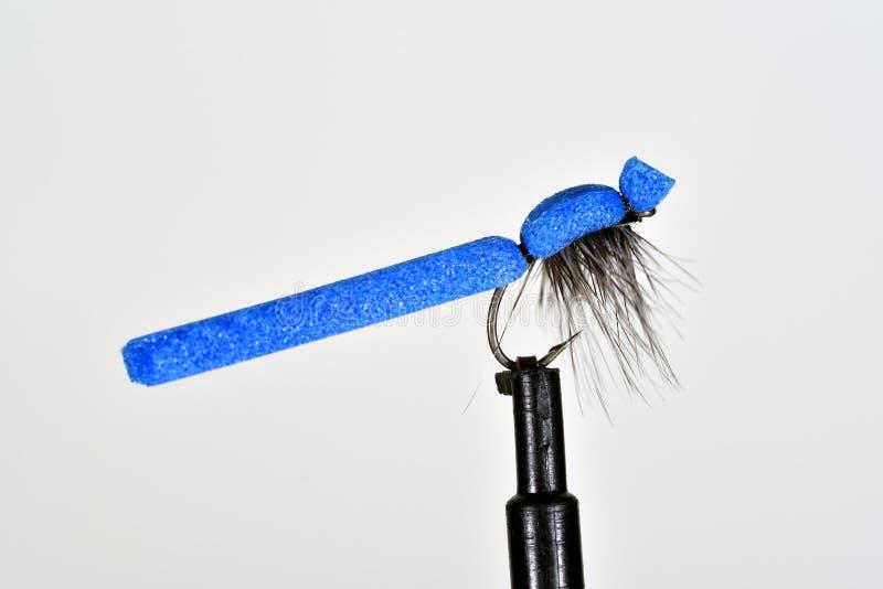 Imitación azul de la trucha de la damisela de la espuma fotografía de archivo libre de regalías