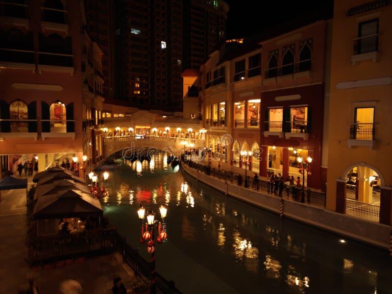 Imitando Veneza Grand Canal foto de stock