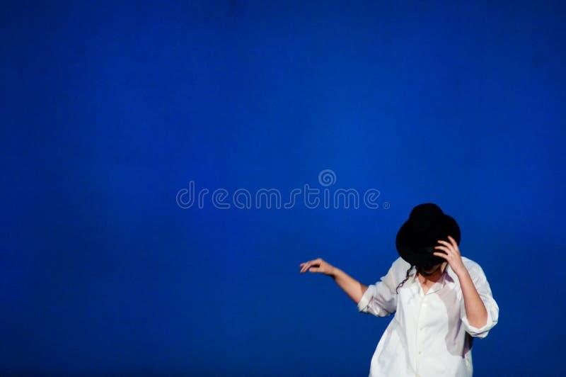 Imitateur de Michael Jackson photographie stock libre de droits