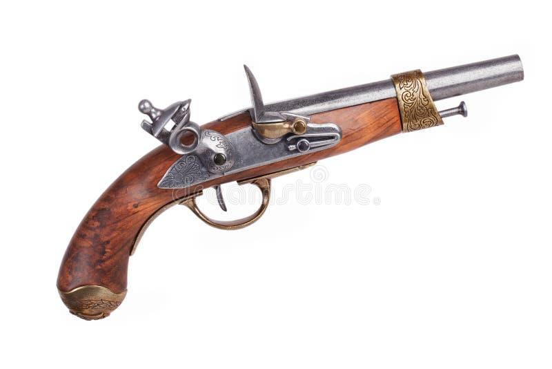 Imitatie van oud Spaans pistool stock fotografie
