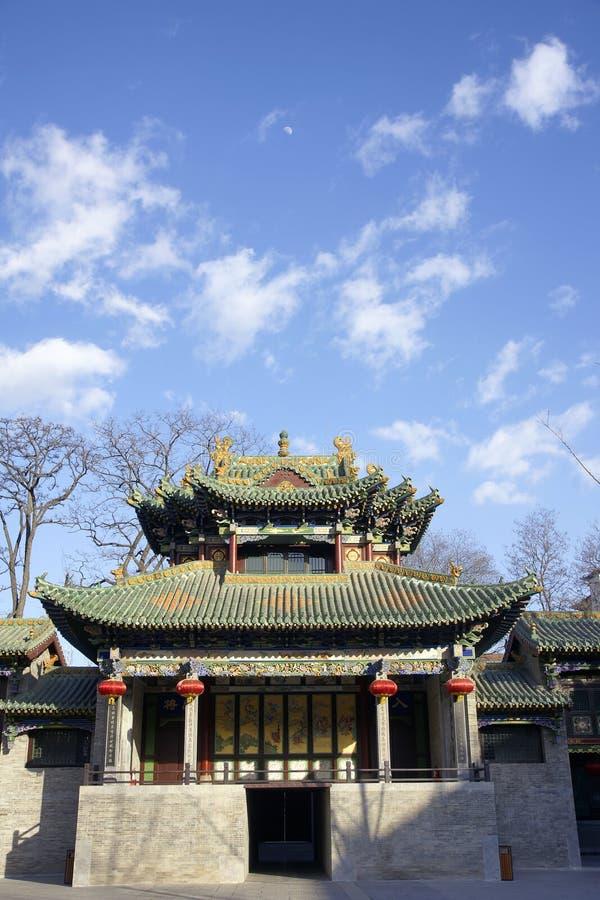Imitatie van oude gebouwen royalty-vrije stock afbeeldingen