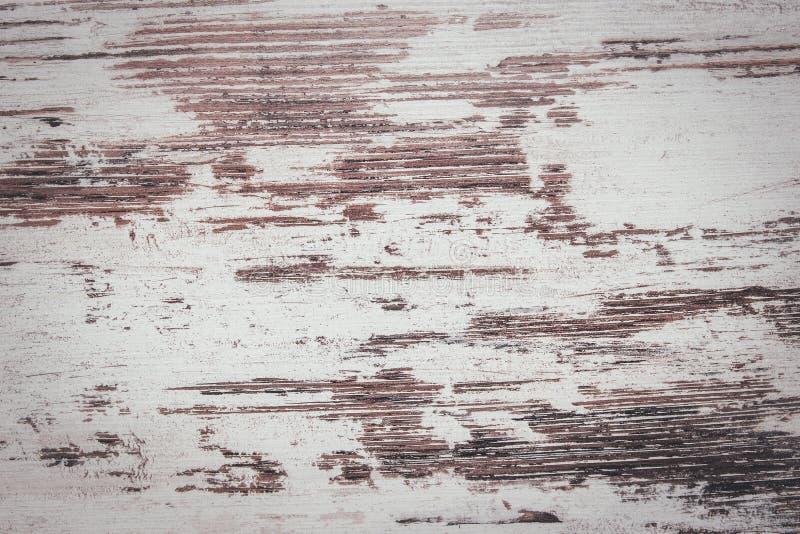 Imitatie van versleten witte houten verf royalty-vrije stock afbeelding