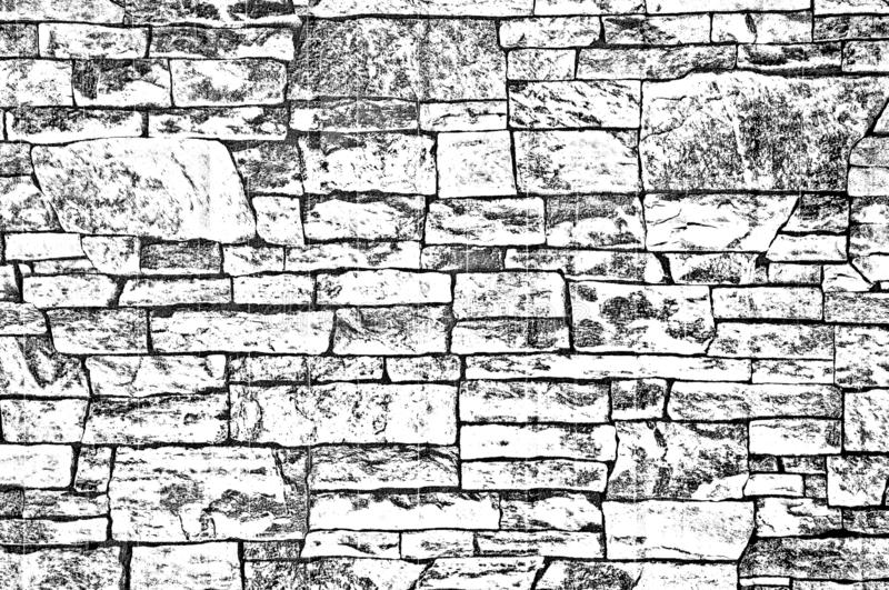 Imitation of brick background texture  on metal. Illustration stock images