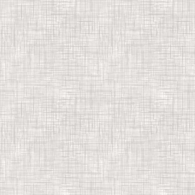 Imitation sans couture de toile à sac, toile de jute modèle beige sur un fond blanc illustration stock