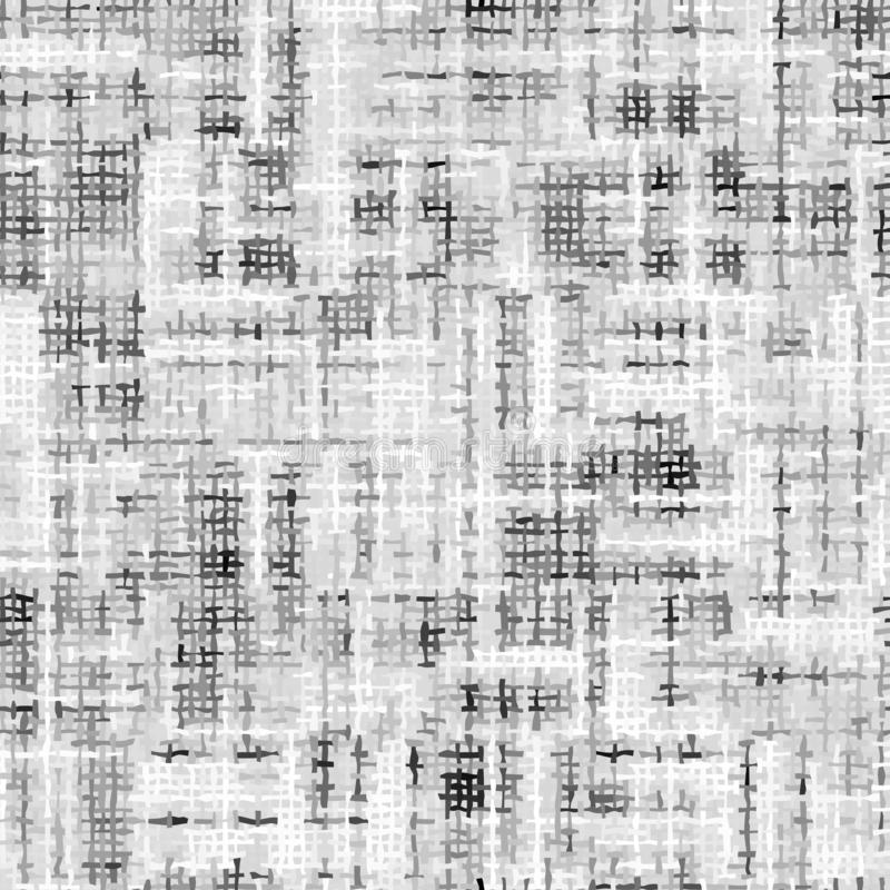 Imitation of a texture of tweed fabric Seamless pattern. Seamless pattern. Imitation of a texture of a classic tweed fabric. Vector image stock illustration