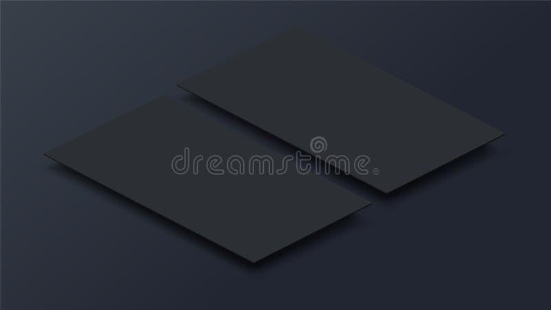 Imite encima de interfaz móvil del app en la opinión de perspectiva 3D Pantalla en blanco del app Relación de aspecto horizontal  libre illustration