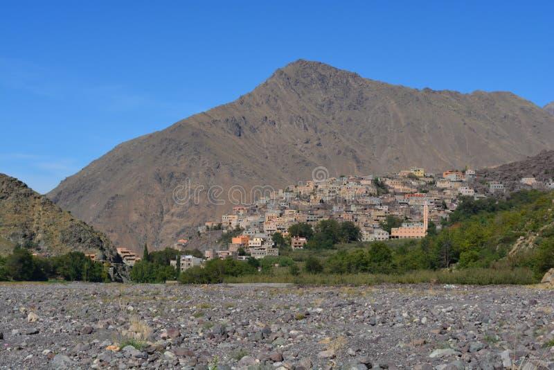 Imlil在摩洛哥 北非 库存图片