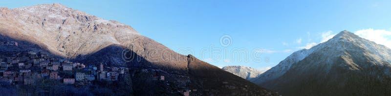 Imlil, wioska w Wysokich atlant górach Maroko obraz stock