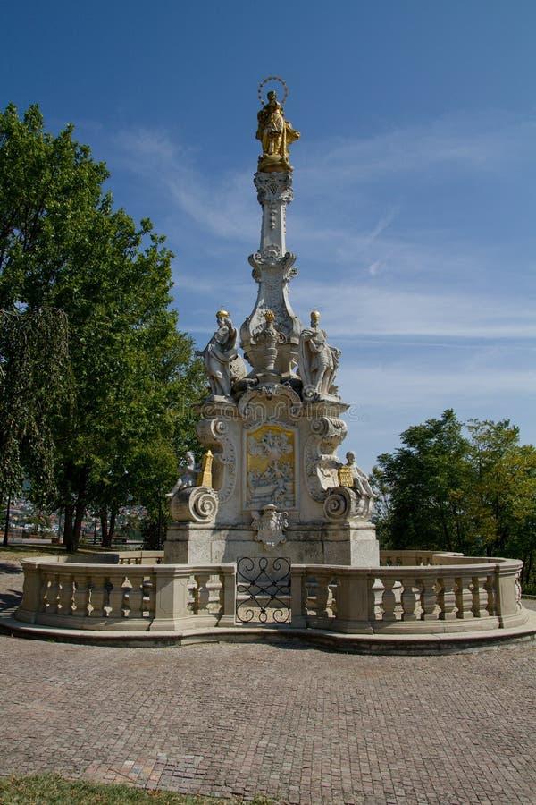 Immaculata dans Nitra, Slovaquie, l'Europe image libre de droits