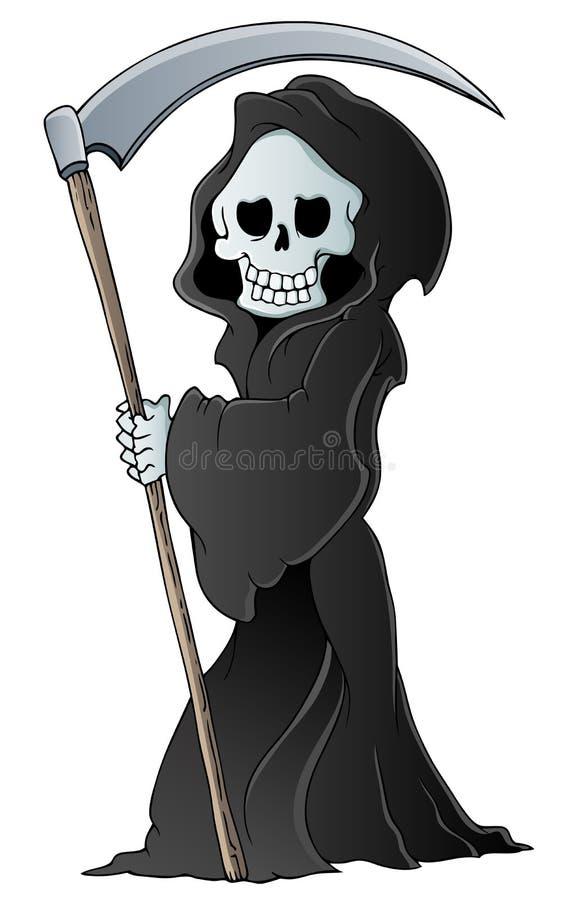 Immagine 3 di tema del reaper torvo royalty illustrazione gratis