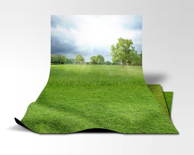 Immagine ambientale illustrazione vettoriale