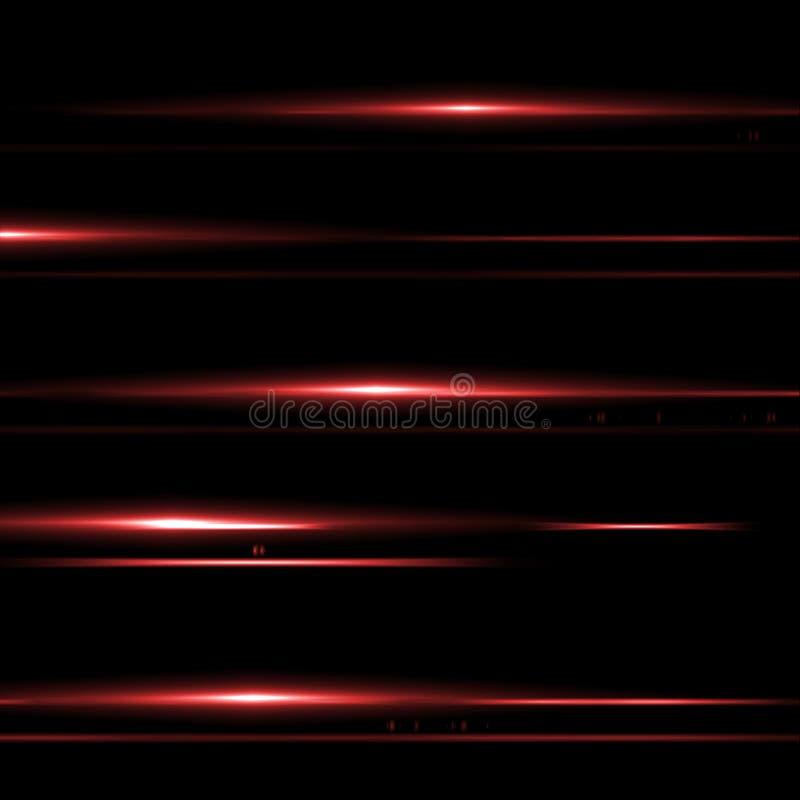Immagine astratta del chiarore di illuminazione illustrazione vettoriale