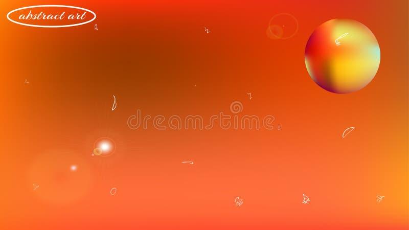 Immagine astratta del fondo dello spazio di Astonomic regolare royalty illustrazione gratis