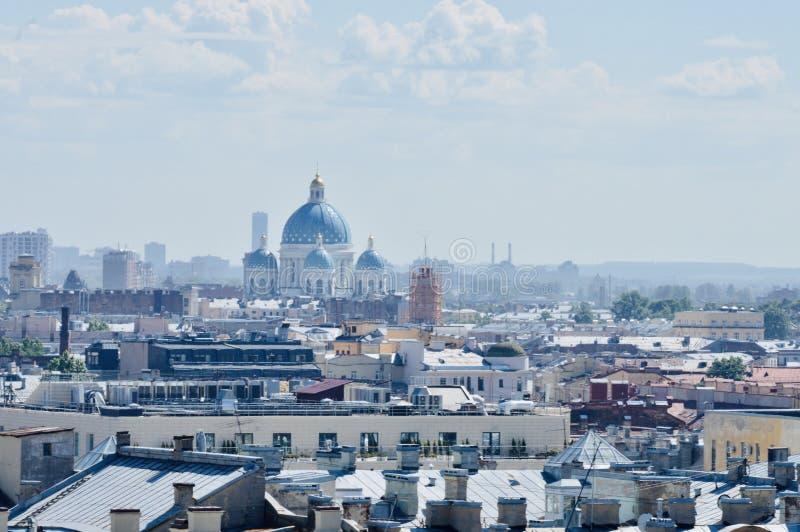 Immagine astratta di affari di qualità eccellente di San Pietroburgo immagine stock
