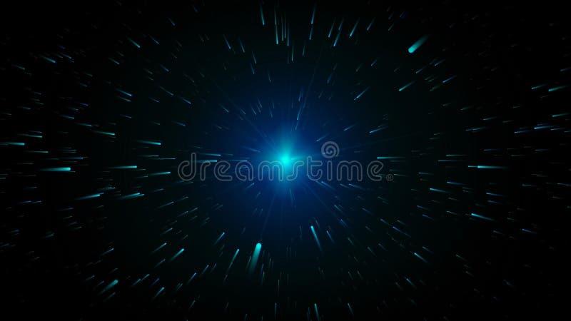 Immagine astratta di colore per fondo illustrazione vettoriale