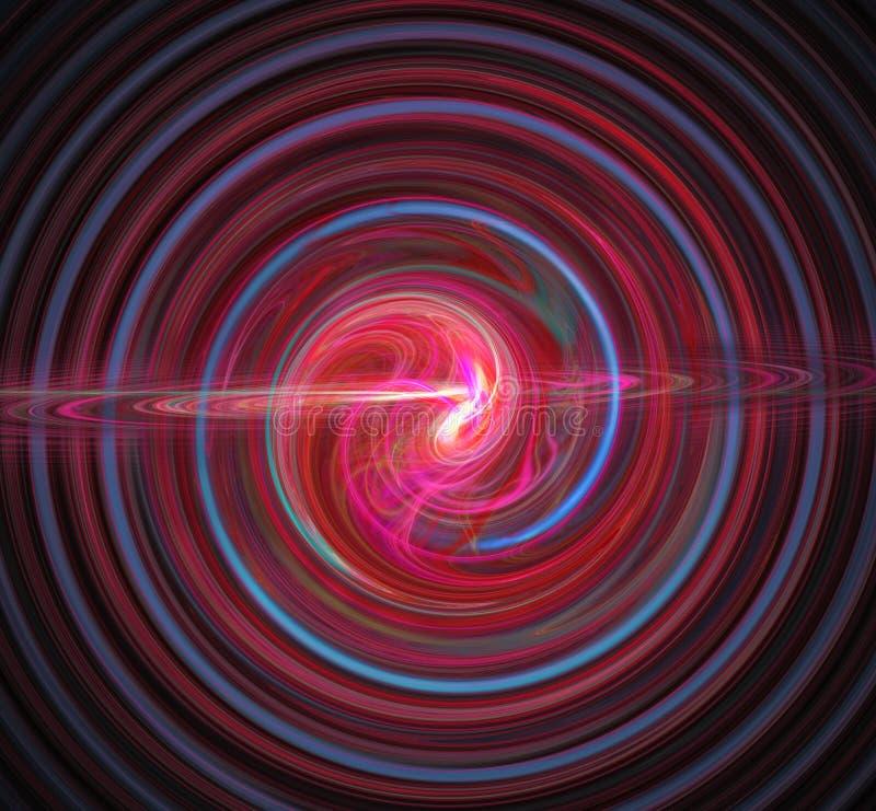 Immagine astratta di frattalo wallpaper Materiale illustrativo digitale creativo fotografie stock libere da diritti
