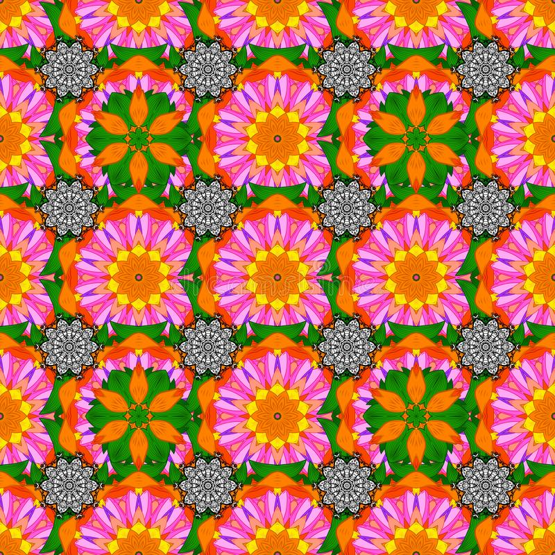 Immagine colorata estratto illustrazione di stock
