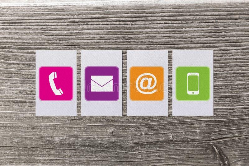 Immagine composita dei apps di comunicazione illustrazione vettoriale