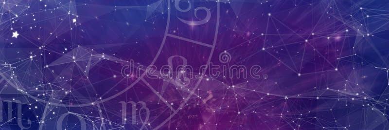 Immagine composita dei segni dello zodiaco royalty illustrazione gratis