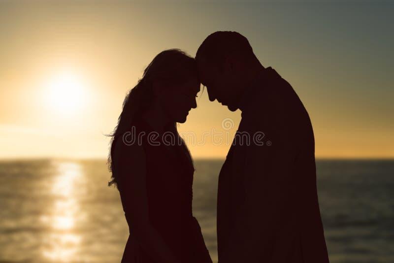 Immagine composita del tramonto di bello giorno immagine stock